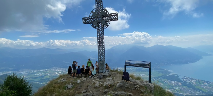Hiking to Sassariente in Ticino (Tessin)